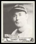 1940 Play Ball Reprint #122  Sandy Sundra  Front Thumbnail