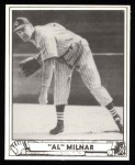1940 Play Ball Reprint #202  Al Milnar  Front Thumbnail