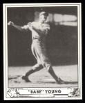 1940 Play Ball Reprint #212  Babe Young  Front Thumbnail