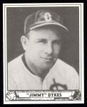 1940 Play Ball Reprint #187  Jimmy Dykes  Front Thumbnail