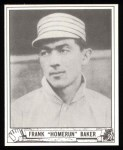1940 Play Ball Reprint #177  Home Run Baker  Front Thumbnail