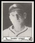 1940 Play Ball Reprint #169  Gabby Street  Front Thumbnail