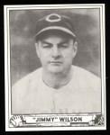 1940 Play Ball Reprint #152  Jimmy Wilson  Front Thumbnail