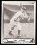 1940 Play Ball Reprint #89  Billy Jurges  Front Thumbnail