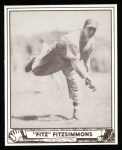 1940 Play Ball Reprint #65  Fred Fitzsimmons  Front Thumbnail