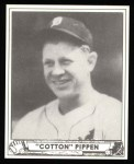 1940 Play Ball Reprint #136  Cotton Pippen  Front Thumbnail