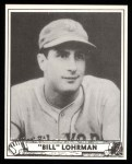 1940 Play Ball Reprint #210  Bill Lohman  Front Thumbnail