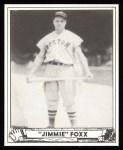 1940 Play Ball Reprint #133  Jimmie Foxx  Front Thumbnail