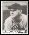 1940 Play Ball Reprint #222  Max Butcher  Front Thumbnail