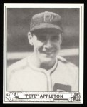 1940 Play Ball Reprint #128  Pete Appleton  Front Thumbnail