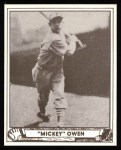 1940 Play Ball Reprint #111  Mickey Owen  Front Thumbnail