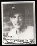 1940 Play Ball Reprint #123  George Hildebrand  Front Thumbnail