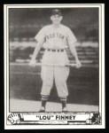 1940 Play Ball Reprint #197  Lou Finney  Front Thumbnail