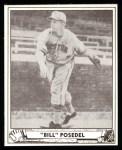 1940 Play Ball Reprint #58  Bill Posedel  Front Thumbnail