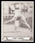 1940 Play Ball Reprint #110  Tom Sunkel  Front Thumbnail