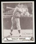 1940 Play Ball Reprint #81  Wally Berger  Front Thumbnail