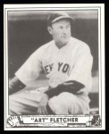 1940 Play Ball Reprint #125  Art Fletcher  Front Thumbnail