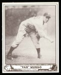 1940 Play Ball Reprint #64  Van Mungo  Front Thumbnail
