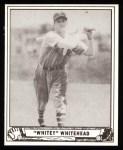 1940 Play Ball Reprint #92  John Whitehead  Front Thumbnail