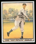 1941 Play Ball Reprint #53  Luke Hamlin  Front Thumbnail