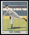 1941 Play Ball Reprint #6  Carl Hubbell  Front Thumbnail