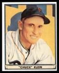 1941 Play Ball Reprints #60  Chuck Klein  Front Thumbnail