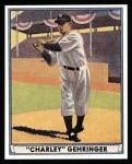 1941 Play Ball Reprint #19  Charlie Gehringer  Front Thumbnail