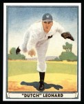 1941 Play Ball Reprint #24  Dutch Leonard  Front Thumbnail
