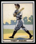 1941 Play Ball Reprint #35  Pinky Higgins  Front Thumbnail