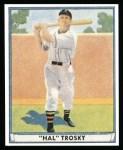 1941 Play Ball Reprint #16  Hal Trosky  Front Thumbnail