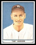 1941 Play Ball Reprint #46  Sid Hudson  Front Thumbnail