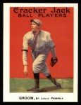 1915 Cracker Jack Reprint #46  Bob Groom  Front Thumbnail