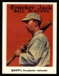 1915 Cracker Jack Reprint #28  Jack Barry  Front Thumbnail