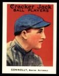 1915 Cracker Jack Reprint #155  Joe Connolly  Front Thumbnail