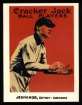 1915 Cracker Jack Reprint #77  Hughie Jennings  Front Thumbnail