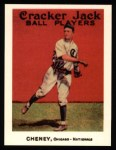 1915 Cracker Jack Reprint #89  Lawrence Cheney  Front Thumbnail