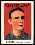 1915 Cracker Jack Reprint #167  Clark Griffith  Front Thumbnail