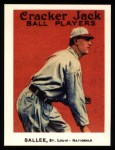 1915 Cracker Jack Reprint #123  Slim Sallee  Front Thumbnail