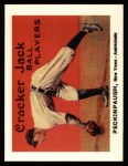 1915 Cracker Jack Reprint #91  Roger Peckinpaugh  Front Thumbnail