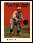 1915 Cracker Jack Reprint #27  Bill Carrigan  Front Thumbnail