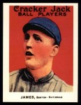 1915 Cracker Jack Reprint #153  Bill James  Front Thumbnail
