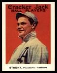 1915 Cracker Jack Reprint #33  Amos Strunk  Front Thumbnail