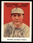 1915 Cracker Jack Reprint #160  Benny Kauff  Front Thumbnail