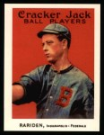 1915 Cracker Jack Reprint #137  William Rariden  Front Thumbnail