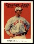 1915 Cracker Jack Reprint #31  Heinie Wagner  Front Thumbnail