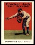 1915 Cracker Jack Reprint #53  Otto Miller  Front Thumbnail