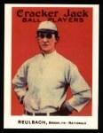 1915 Cracker Jack Reprint #80  Ed Ruelbach  Front Thumbnail
