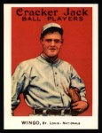 1915 Cracker Jack Reprint #130  Ivy Wingo  Front Thumbnail