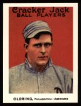 1915 Cracker Jack Reprint #8  Rube Oldring  Front Thumbnail