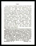 1915 Cracker Jack Reprint #156  Jean Dubuc  Back Thumbnail